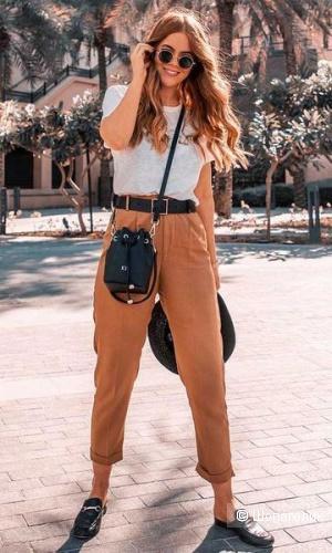 Брюки (джинсы) цвета кэмел от Betty Barclay, размер S