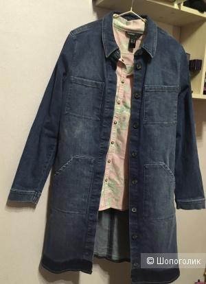 Джинсовый плащ/куртка Only размер 36 S