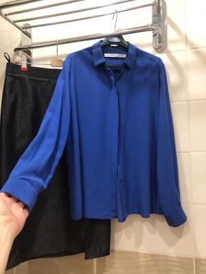 Шелковая рубашка & other stories. Размер 46-48.