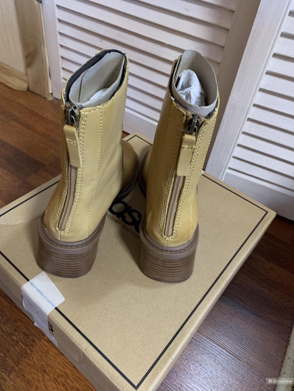 Ботинки кожаные Asos Premium, р.38-39