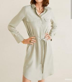 Платье-рубашка MANGO, размер L на 44-46 -48 раз