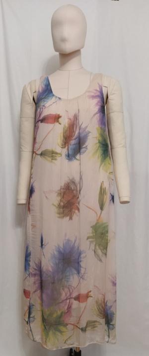Платье из100% шелка, no brand, one size