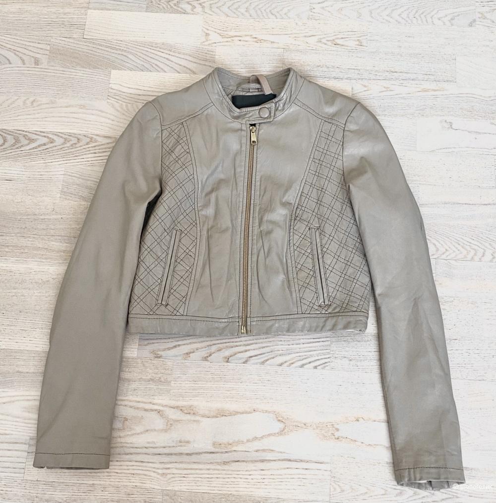 Кожаная куртка In Wear, размер S.