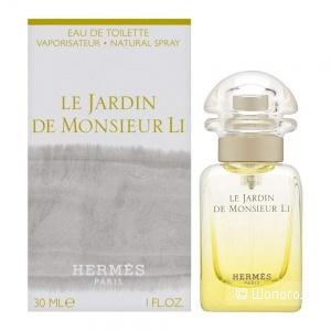 Парфюм HERMÈS « Le Jardin de Monsieur Li», 15 мл из 30