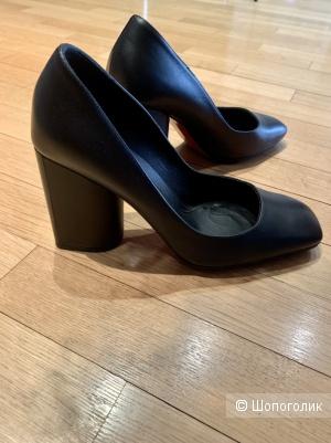 Туфли Baldinini 36,5 черные кожа