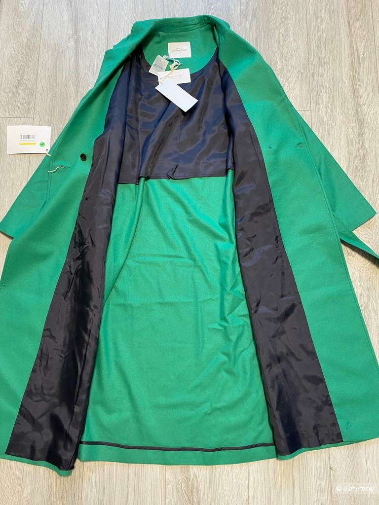 Шерстяное пальто American Vintage, р.XS/S, рос.42-46