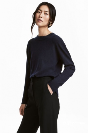 Кашемировый пуловер hm, размер s/m