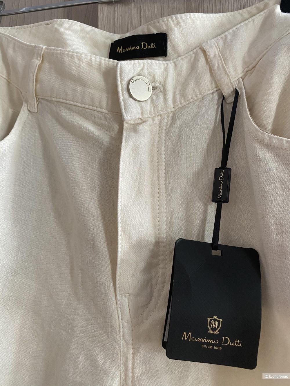 Льняные штаны Massimo Dutti, eur 36