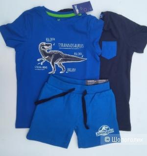 Комплектом футболки и шорты lupilu 110-116см