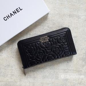 Кошелек Chanel женский кожаный черный