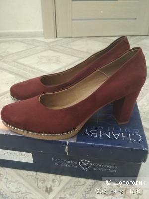 Туфли замшевые Испания 41 размер