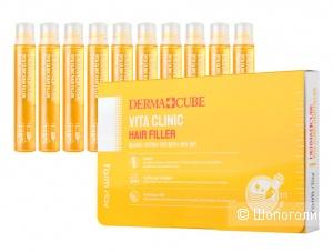 Филлер для волос FarmStay Dermacube Vita Clinic Hair Filler
