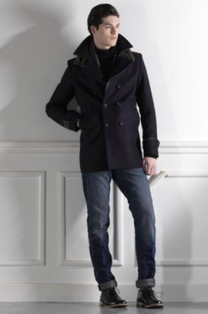 Пальто-бушлат John Devin, размер 48-50