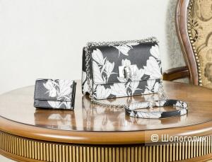"""Комплект:  сумка-кроссбоди женская Furla """"1927""""  + кошелек женский Furla """"1927"""" (лимитированная коллекция), small."""