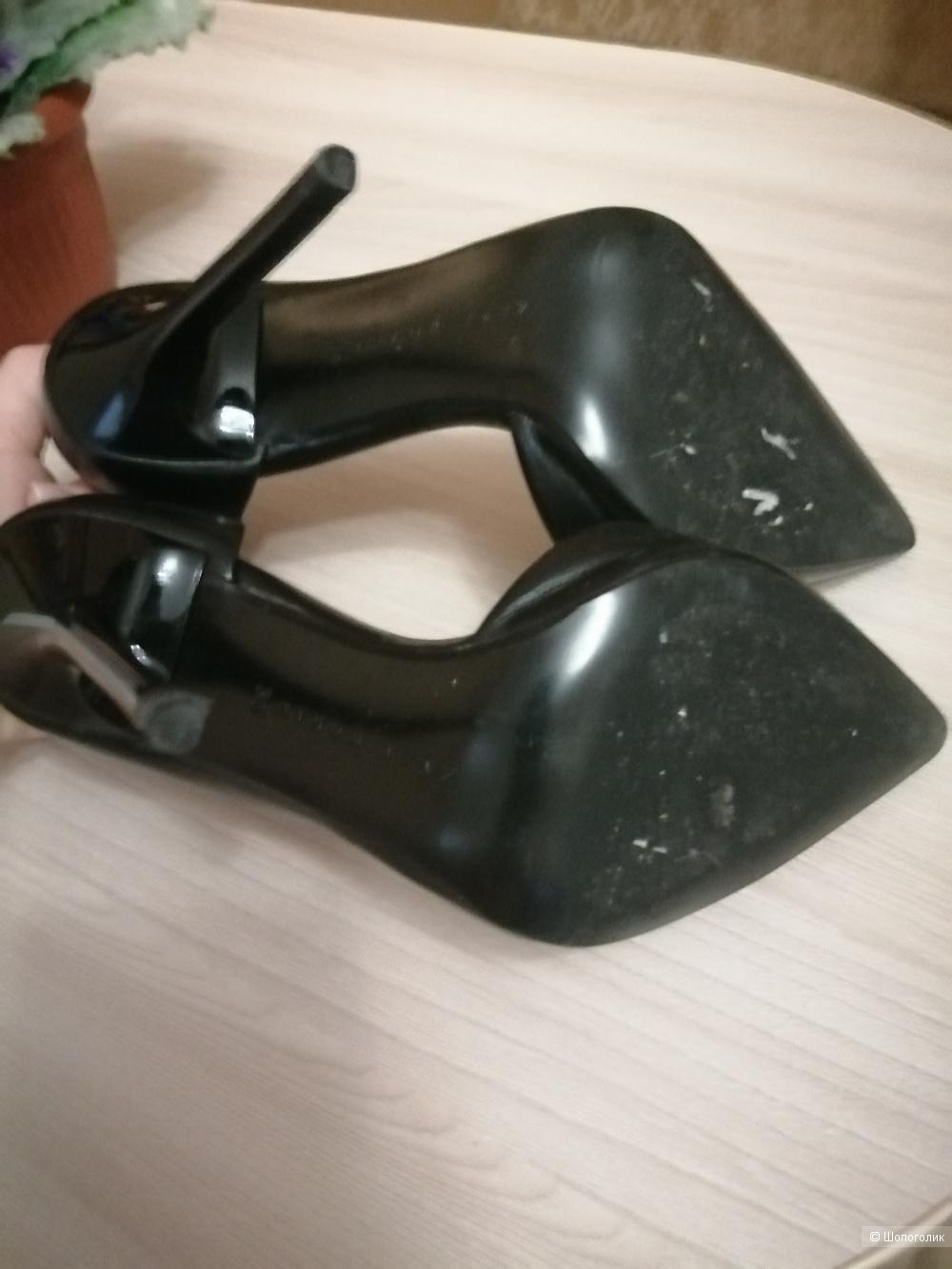 Туфли лодочки, кожа, 35-36размер.