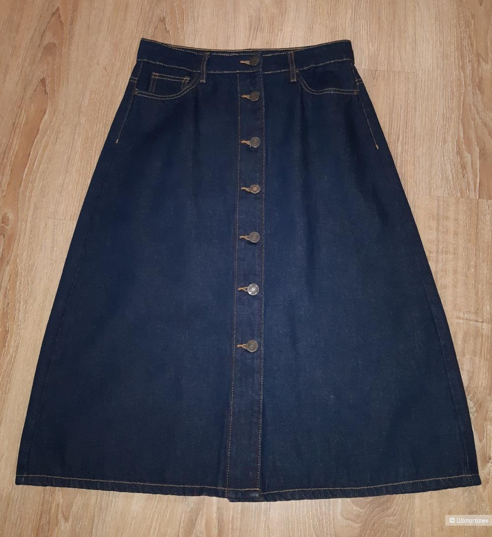 Джинсовая юбка noisy may, размер s/m