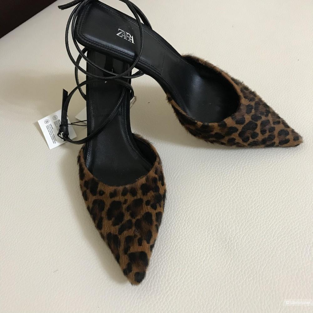 Леопардовые Туфли Zara 37