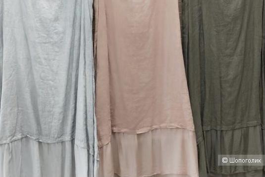 Платье лен шелк LINO SILK Base, 42-52