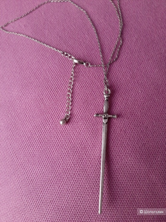 Ожерелье с кинжалом ASOS Solstice, one size