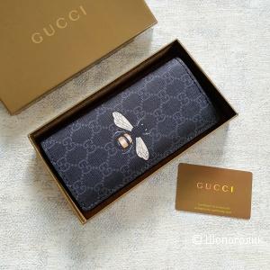 Кошелек Gucci (купюрница) черный
