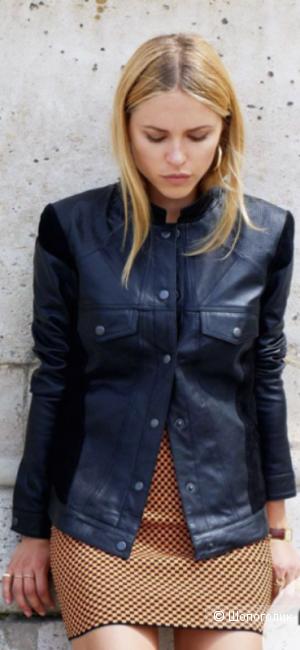 Кожаная куртка-пиджак, YAS, 44-46