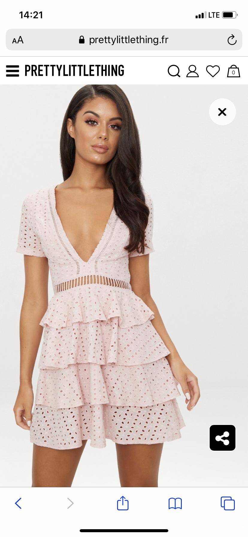 Платье Prettylittlething uk 10 (s/m)