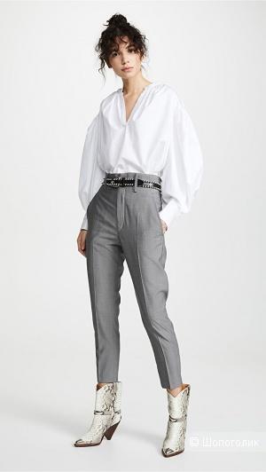 Шерстяные брюки isabel marant etoile, размер 46/48
