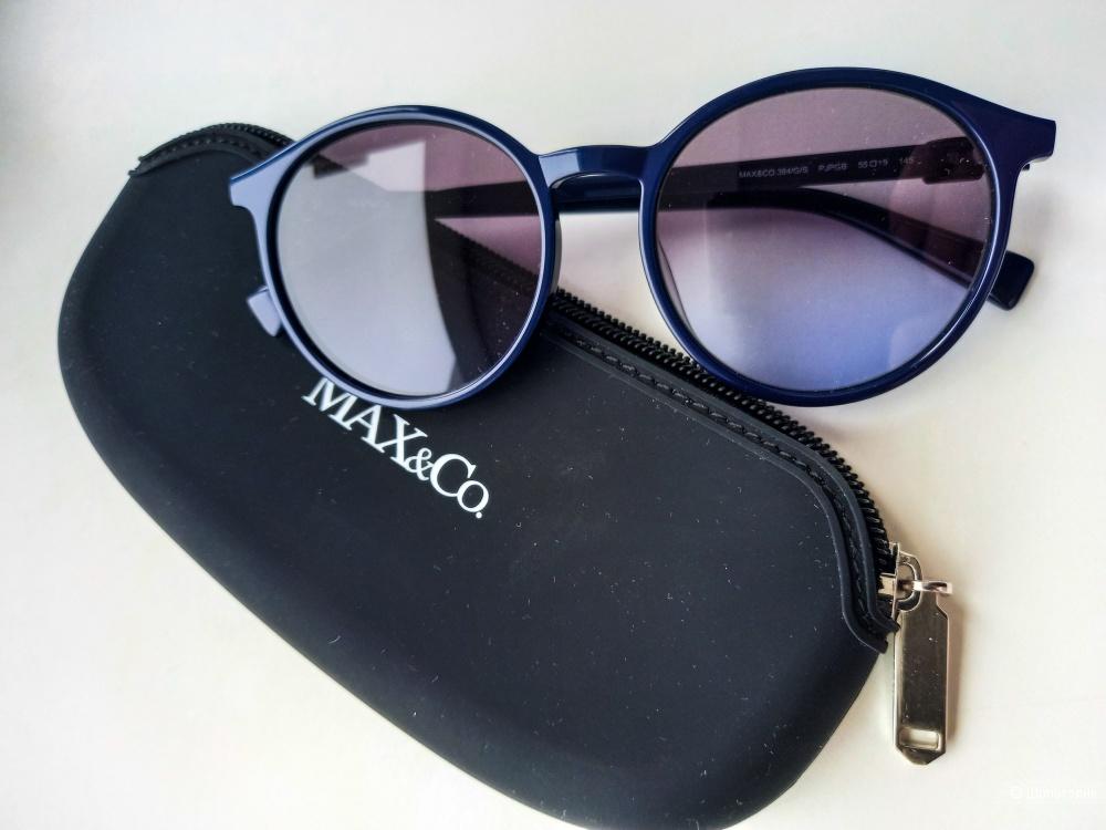 Очки Max Co синие