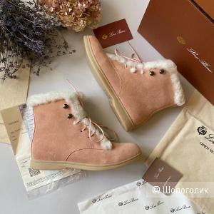 Ботинки Loro Piana зимние 37\40\41 размер