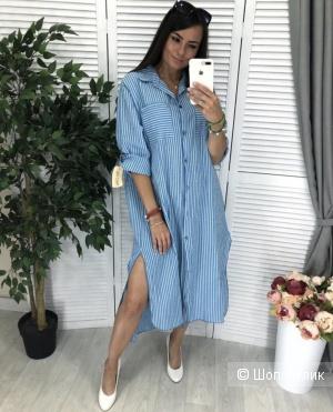 Платье рубашка New Collection italy, 42-50