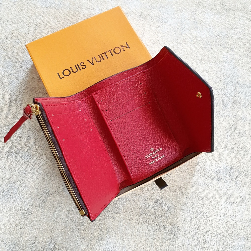 Кошелек Louis Vuitton Victorine красный