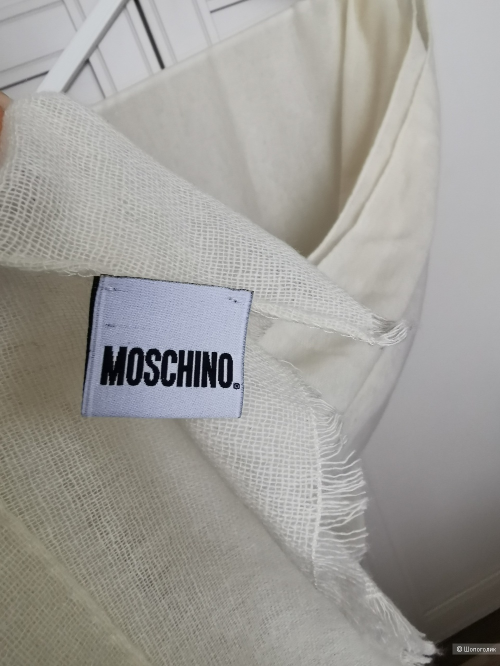 Шарф-палантин moschino, onesize