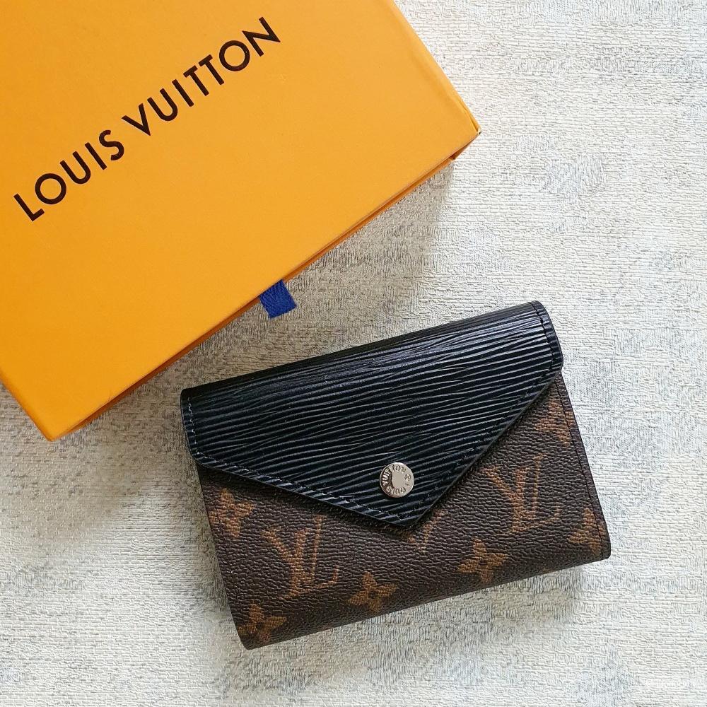 Кошелек Louis Vuitton Zoe черный