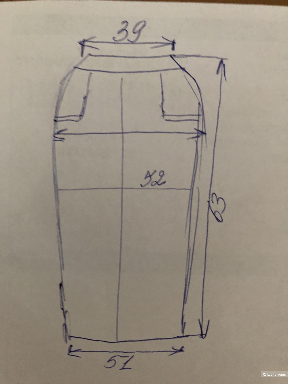 Кожаная юбка John F. Gee,,42D