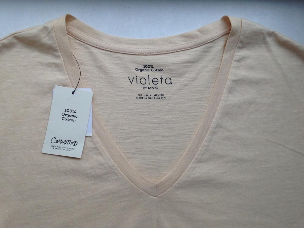 "Футболка "" Violeta by Mango "", 48-50 размер"