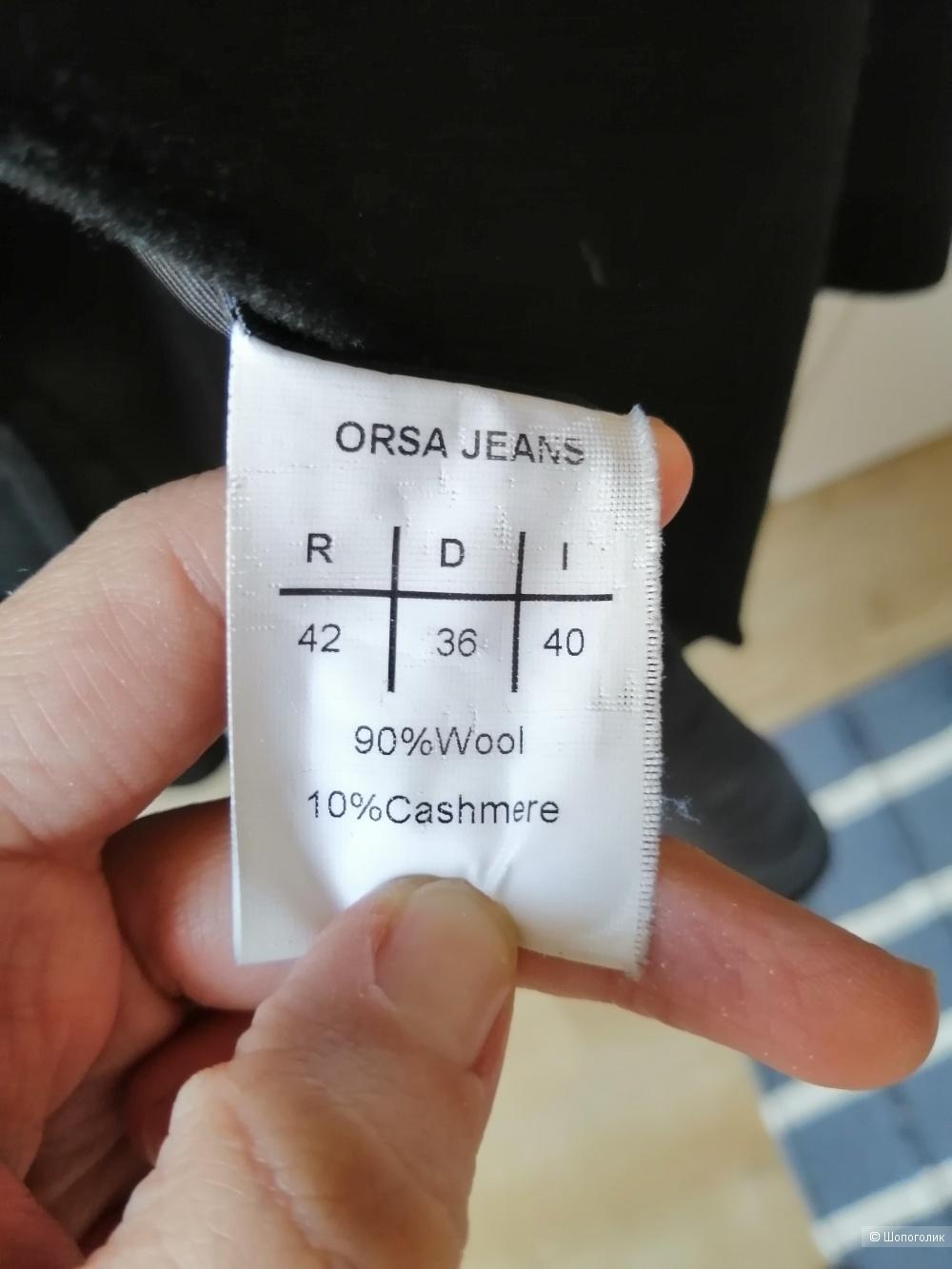 Пальто orsa jeans размер i40