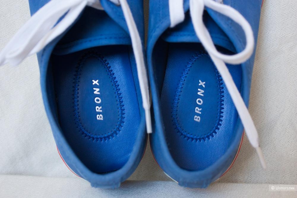 Кеды кожаные балетки Bronx 37 RU