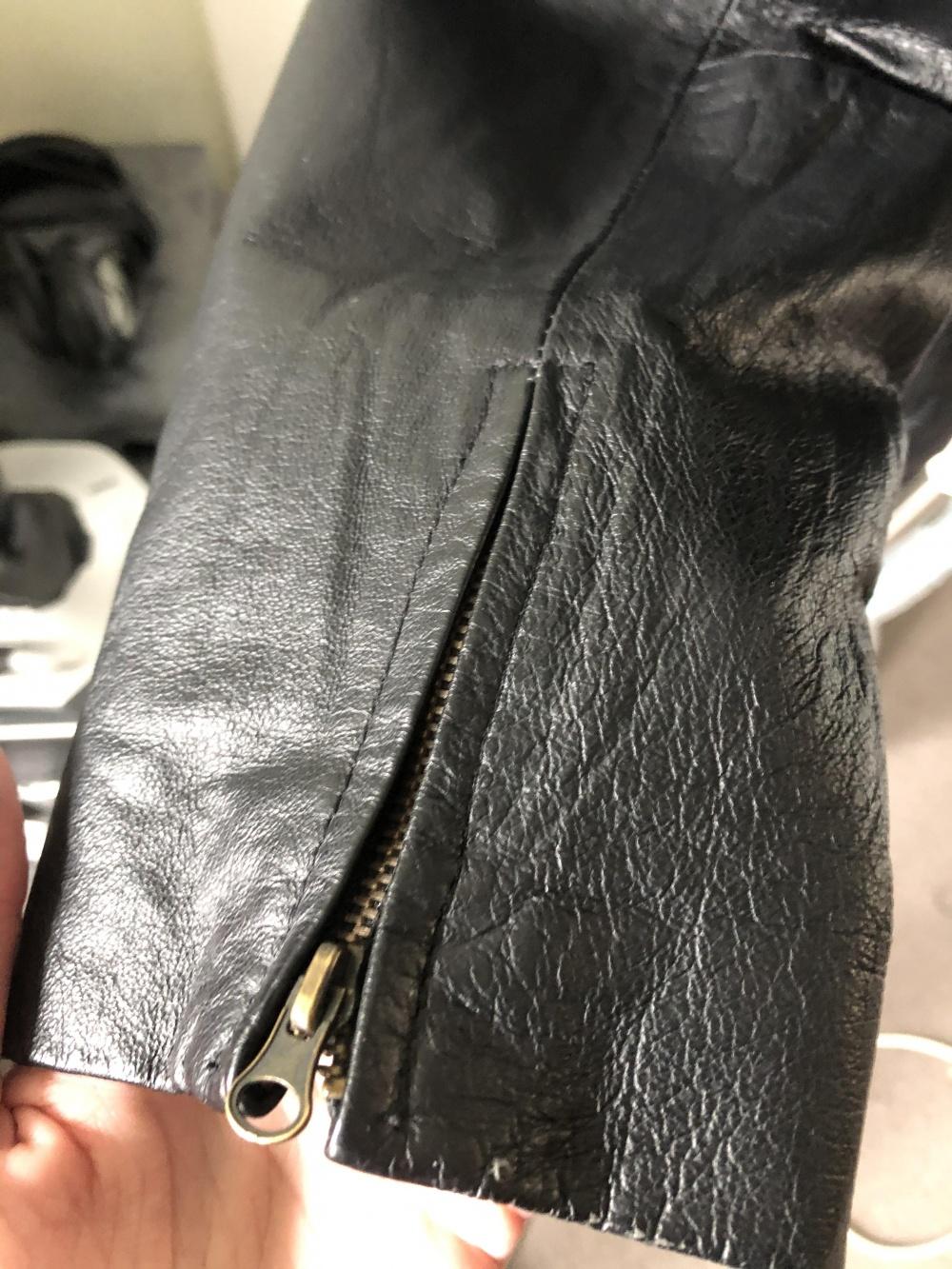 Кожаная куртка SOLO, размер М