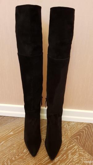 Высокие сапоги MIU MIU, 39,5