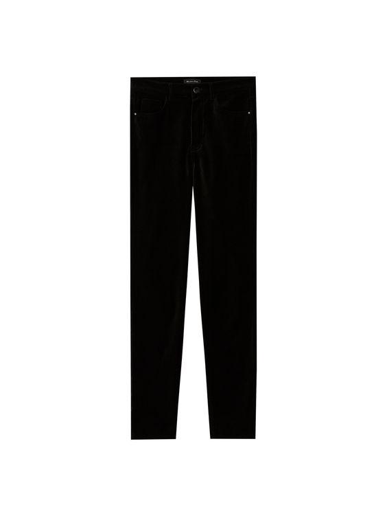 Бархатные брюки  Massimo Dutti, размер 40
