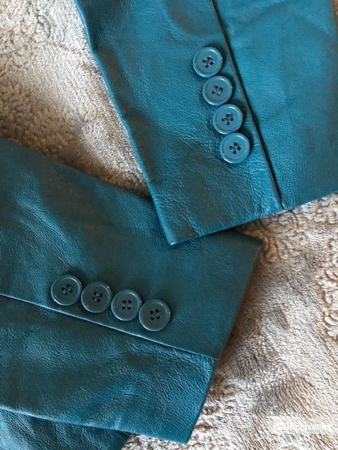 Кожаный пиджак METROSTYLE,44-46