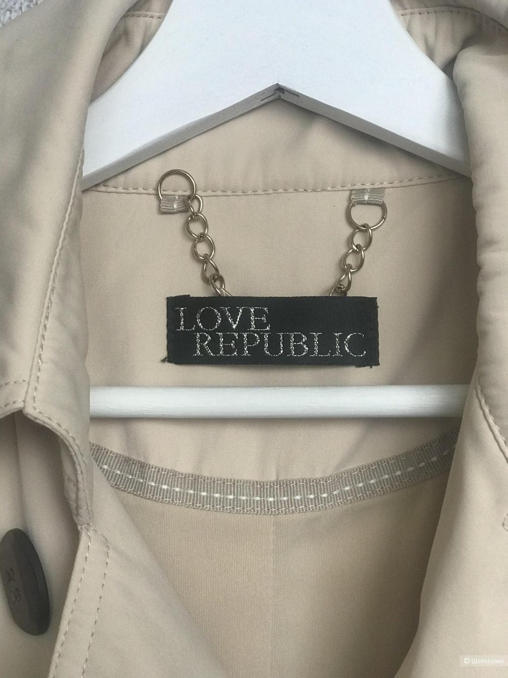 Плащ/тренч LOVE Republic 44-46 р.