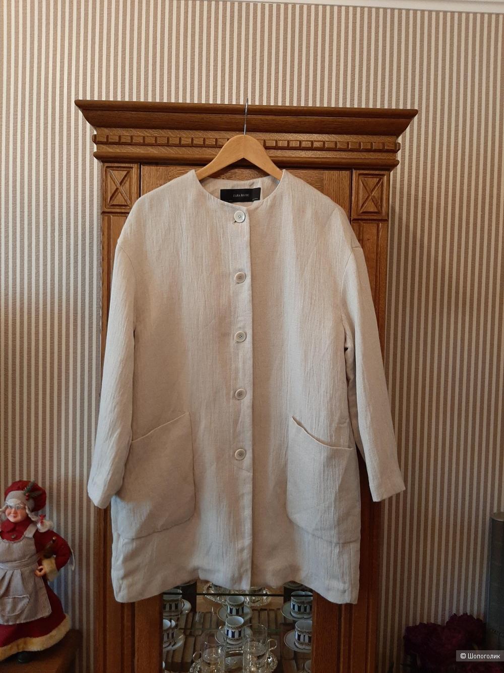 Пальто пиджак Zara р.46