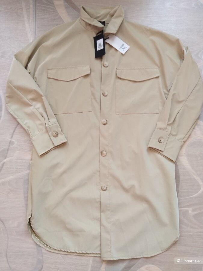 Рубашка (Италия) экокожа 42-44