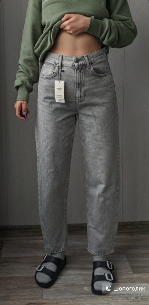 Серые джинсы, MANGO, 34 размер