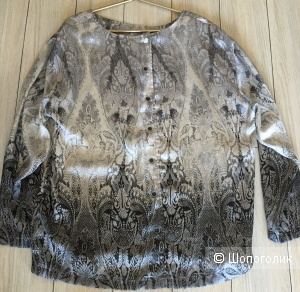 Шикарная блузка, Madeleine, размер GB 14 на 44-46 Rus.