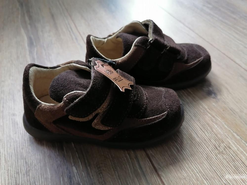 Замшевые кроссовки производство Италия размер 26