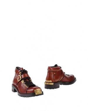 MIU MIU  ботинки  с металлическими аппликациями,40-40.5