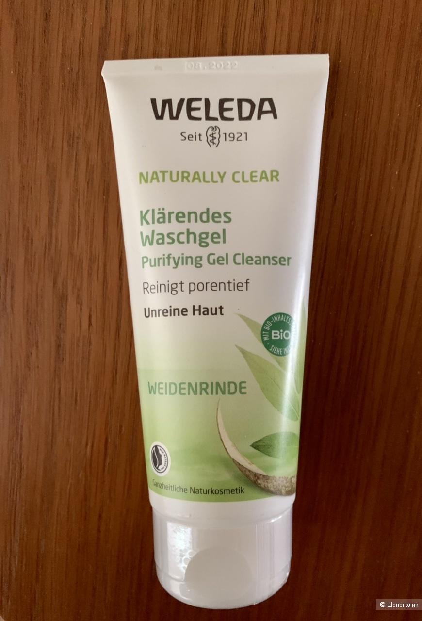 Очищающий гель для лица Weleda Purifying gel 100 ml