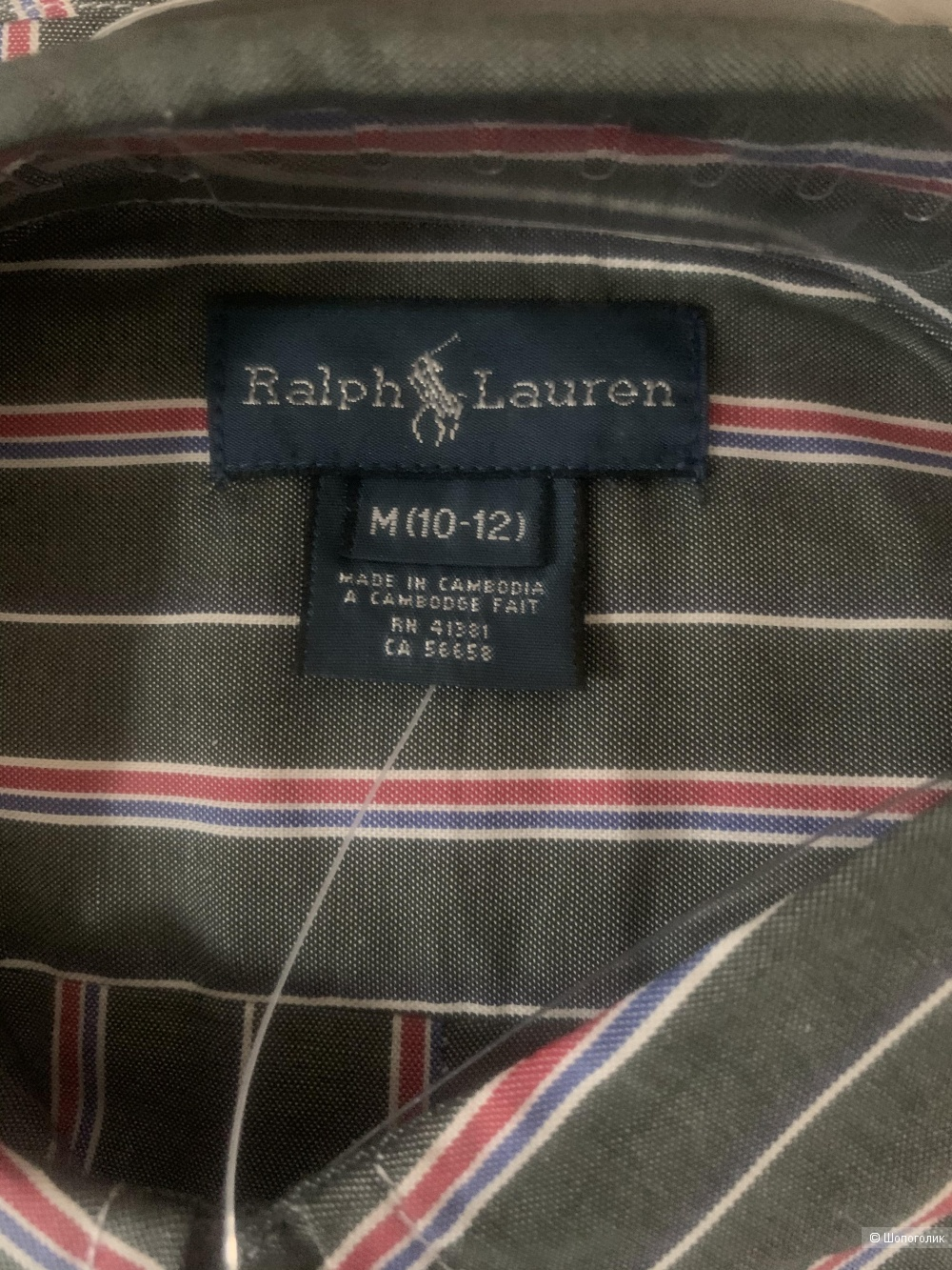 Рубашка Ralph Lauren, M (10-12л)